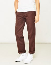 Dickies 873 Slim Work Pant Brown