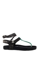 Coolway Scout Lace Up Sandal Black