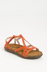 Naot Footwear Women's Naot 'Dorith' Sandal Orange Leather