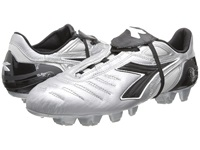 Diadora Maracana Rtx 12 Silver Black Men's Soccer Shoes Gray