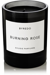 Byredo Burning Rose Scented Candle Black