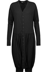Y 3 Adidas Originals Cotton Blend Playsuit Black