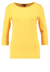 More And More Long Sleeved Top Frozen Mango Yellow