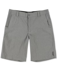 Metal Mulisha Straight Away Chino Shorts Heather Charcoal