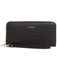 Guess Katiana Large Zip Around Boxed Wallet A Macy's Exclusive Style Black
