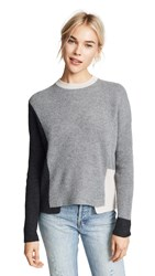 360 Sweater Cashmere Akima Graphite
