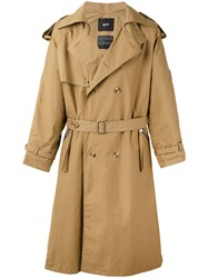 Blood Brother Park Trench Coat Nude Neutrals