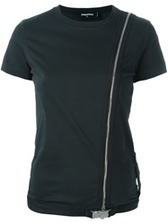 Dsquared2 Side Zip T Shirt Black