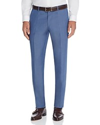 Hugo Boss Solid Regular Fit Trousers Light Blue