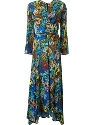 Scanlan Theodore Pastel Floral Print Dress Multicolour