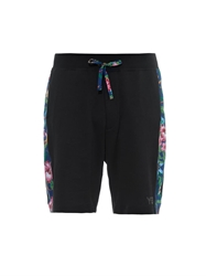 Y 3 Floral Print Jersey Shorts