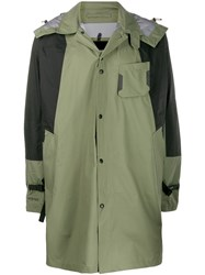 The North Face Hooded Raincoat Green