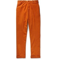 Levi's Vintage Clothing Cotton Twill Trousers Orange
