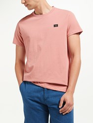 Samsoe And Samsoe Max O N Logo T Shirt Dusty Rose