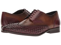 Messico Paolo Burgundy Honey Leather Shoes Brown