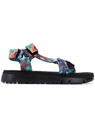 Camper Oruga Sandals Green