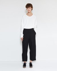 Christophe Lemaire Cropped Pants Black