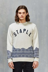Staple Skylight Sweater Cream