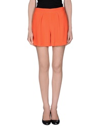 Ralph Lauren Black Label Mini Skirts Orange