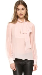Prabal Gurung Tie Neck Blouse Shell