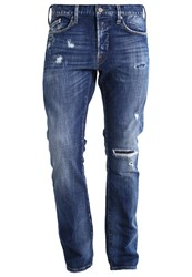 Replay Waitom Slim Fit Jeans Denim Destroyed Denim