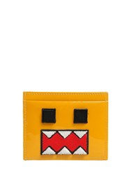 Les Petits Joueurs Monster Patent Leather Card Holder