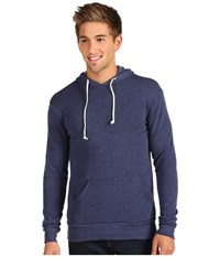 Alternative Apparel Hoodlum Pullover Hoodie Eco True Navy Men's Long Sleeve Pullover