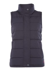 Joules Padded Gilet Navy