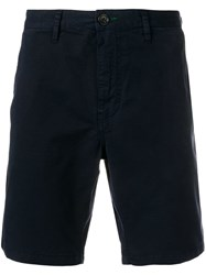 Paul Smith Ps Straight Leg Shorts Blue