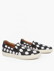 Paul Smith Black Balloon Motif Slip On Sneakers