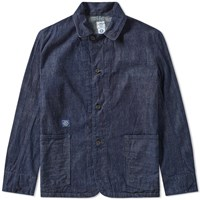 Post Overalls Engineers Jacket Blue