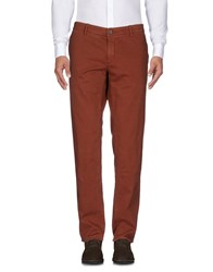 Maison Clochard Casual Pants Brown