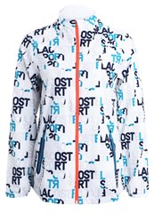 Lacoste Sport Tracksuit Top White Navy Blue Oceanie Fluo Energy