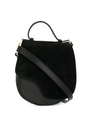 Atp Atelier Satchel With Gold Details Black