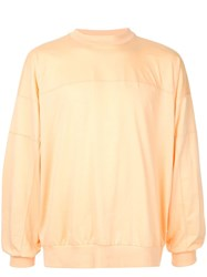 08Sircus Jersey Sweatshirt Orange