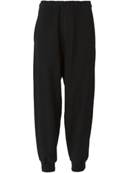 Y's Cropped Trousers Black