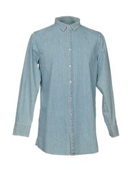 Wemoto Denim Shirts Blue