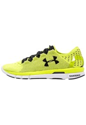 Under Armour Speedform Slingshot Competition Running Shoes Flash Light Black Neon Yellow