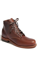 Wolverine Men's '1000 Mile' Plain Toe Boot Rust