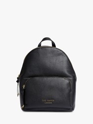 Ted Baker Roziie Leather Backpack Black