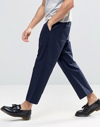 Religion Frequency Wide Leg Chinos Navy