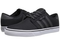 Adidas Seeley Black Dark Grey Heather Solid Grey White Men's Skate Shoes