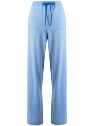Chinti And Parker Wide Leg Knitted Track Pants 60