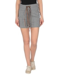 Brunello Cucinelli Shorts Grey