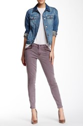 Level 99 Riley Skinny Moto Jean Pink