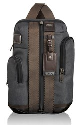 Men's Tumi 'Alpha Bravo Monterey' Sling Bag Grey Anthracite