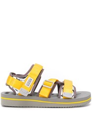 Suicoke Touch Strap Sandals Yellow