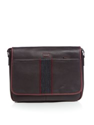 Ted Baker Smithy Webbing Despatch Bag Chocolate