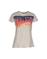 Shirt C Zero Topwear T Shirts Women Light Grey