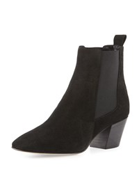 Aquatalia By Marvin K Freya Weatherproof Chelsea Boot Black